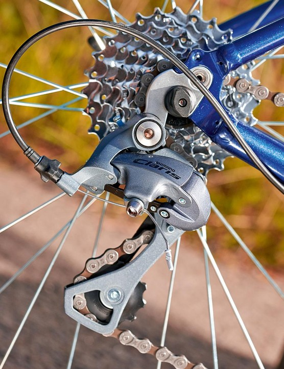 Lower gears would help overcome the Initial's weight