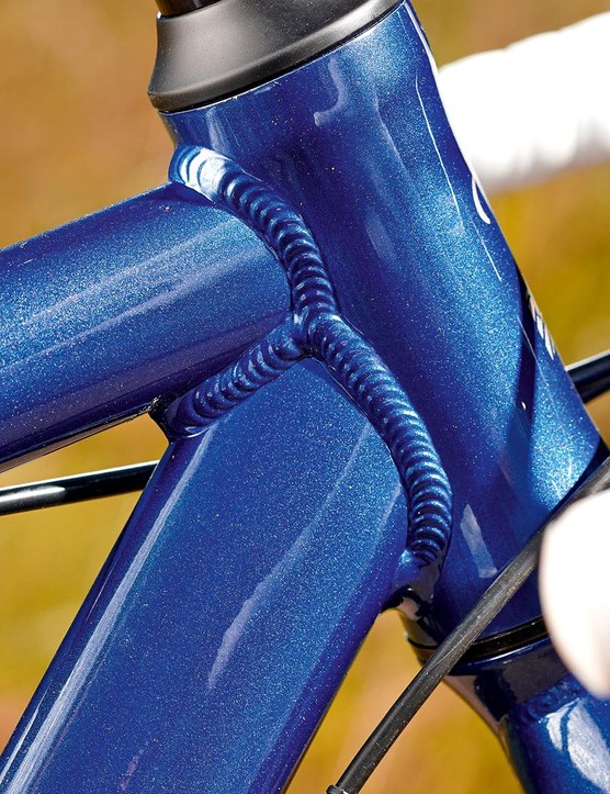 A classic alloy frame with classic alloy welds