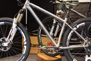 Stanton's Switchback Ti is what happens when you love hardtails and have serious wonga to blow