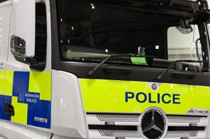 The police were on hand to demonstrate the difficulties lorry drivers face when it comes to driving alongside cyclists, understanding that this is key to keeping safe on the roads