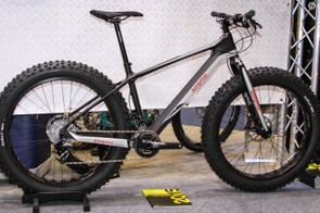 The Sarma Shaman full carbon fat bike is as eye catching as ever