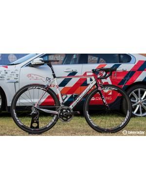 Martin Kohler's Swift Ultravox Ti - 2015 Drapac Professional Cycling team bike