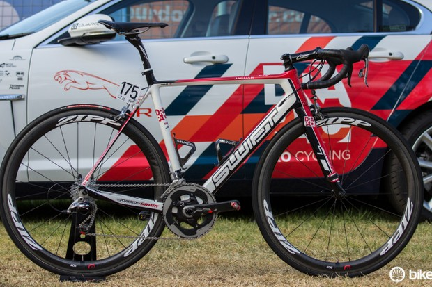 Martin Kohler's Swift Ultravox Ti - 2015 Drapac Professional Cycling team bike