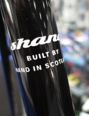 Handbuilt in Scotland, Shand is proud of its heritage