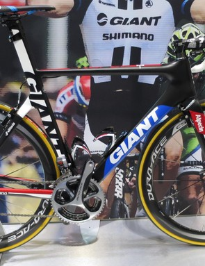 The Giant-Alpecin Giant Propel - as used by Marcel Kittel