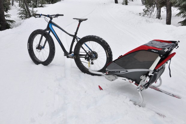 The new Robert Axles help expand the potential of fat bikes