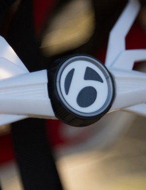 The Circuit features Bontrager's Headmaster retention system