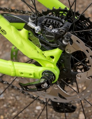 120mm of suspension travel is delivered by Trek's ABP design, just like its other bikes