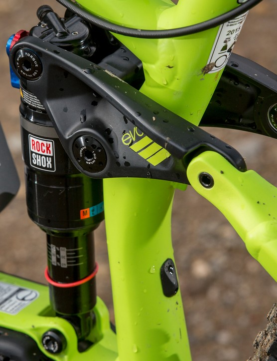 Frame stiffness was a big issue, so the bike is build tough using the same size pivots as the longer-travel Remedy