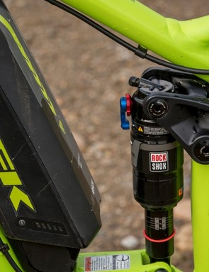 Trek chose to work with RockShox for this project, as it felt the Monarch better suited its requirements