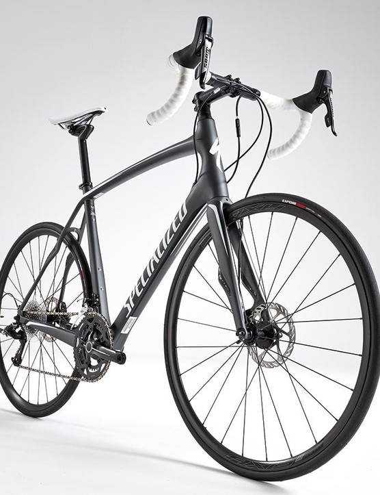 The disc-equipped Roubaix has been redesigned from the ground up