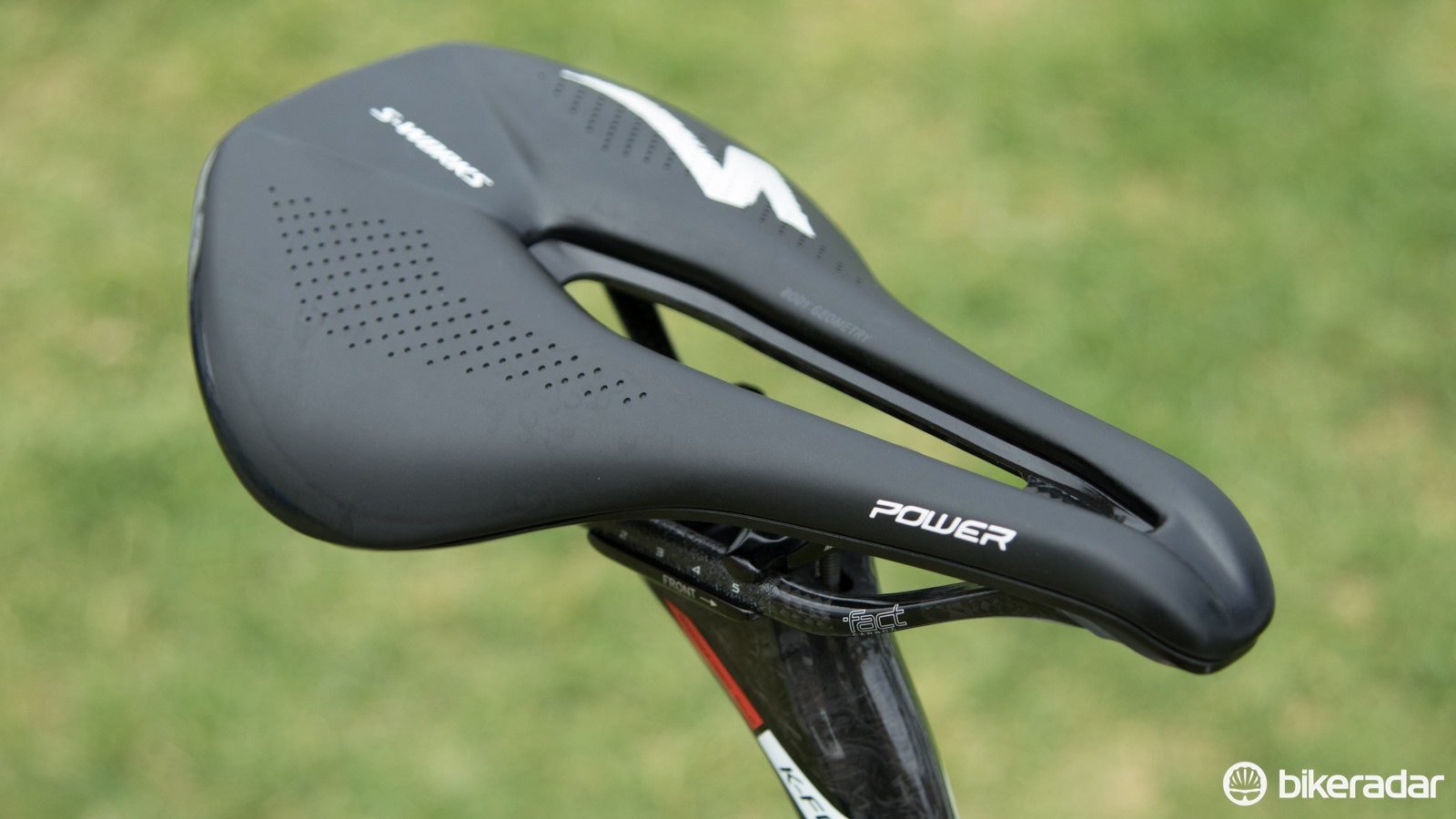 As seen on Lars Boom's bike, the Specialized S-Works Power saddle