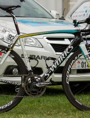 Lars Boom's Specialized S-Works Tarmac - click through the gallery for an in-depth look