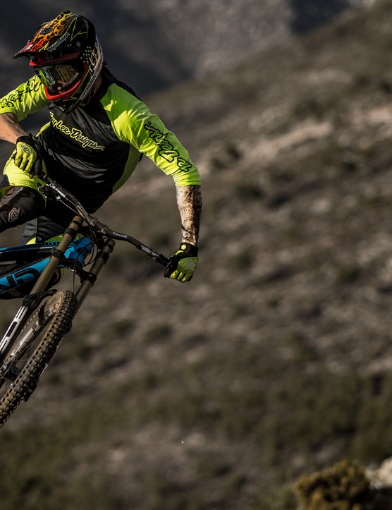 YT's Enduro World Series shredder Bryan Régnier knows a thing or two about throwing downhill bikes around