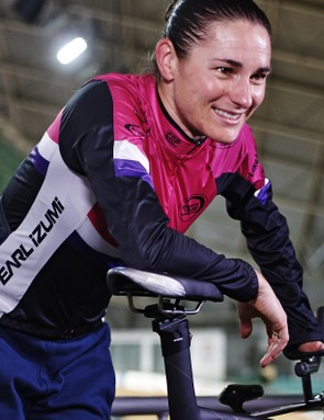 Dame Sarah Storey - prepared to add the hour record to her long list of accomplishments