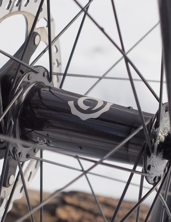 It's a shame that Turner doesn't include the Industry Nine hubs from our tester on production builds. The ultra-fast rear hub engagement provides very real benefits on tricky climbs