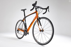 The Domane's H2 geometry hits the sweet spot between racing poise and comfort