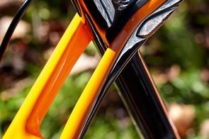 Trek's Isospeed 'pivot' lets the seat tube flex for rear end plushness