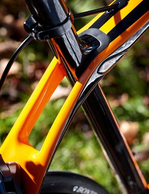 Trek's Isospeed 'pivot' lets the seat tube flex for rear end plushness