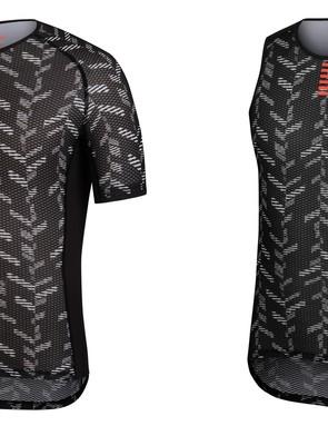 Data Print Pro Team short sleeve and sleeveless base layers