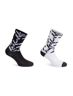 Finish off your Data Print wardrobe with matching socks