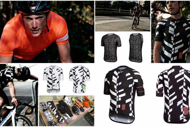 Peter Kennaugh is the new face of Rapha, showing off the brand's new Data Print range