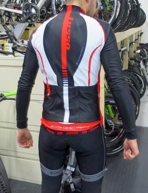 The rear of the jersey has three generous pockets