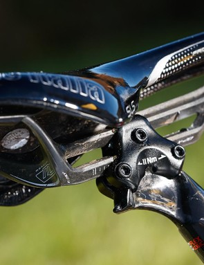 The Monolink's one rail limits saddle choice, but we loved it