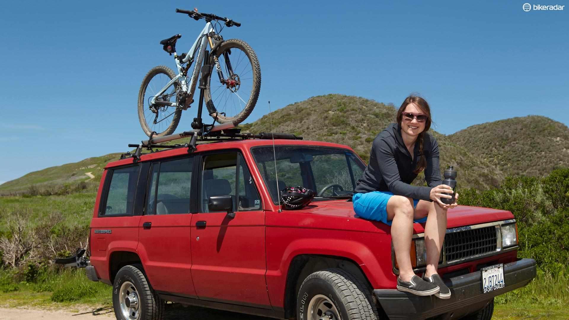 Katie Zaffke of Juliana Bikes
