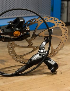 Clarks M2 hydraulic brakes