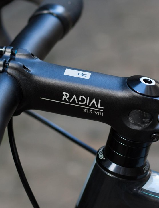 Radial own brand finishing kit won't be winning any design awards but looks dependable and inoffensive