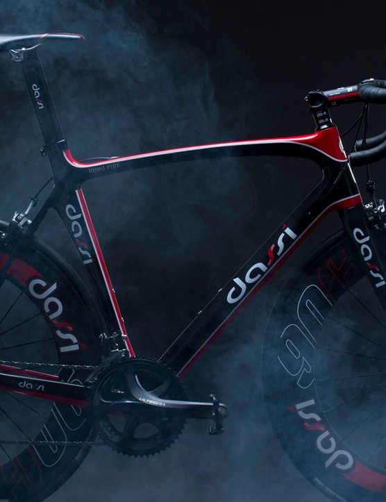 Dassi's Aero Road frame will soon be manufactured in the UK