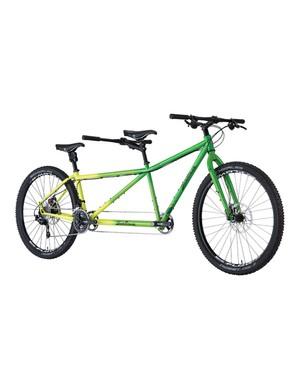 The Powderkeg is Salsa Cycles' first tandem mountain bike