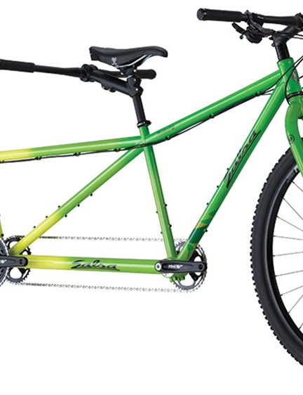 The Powderkeg is Salsa Cycles' first tandem mountain bike