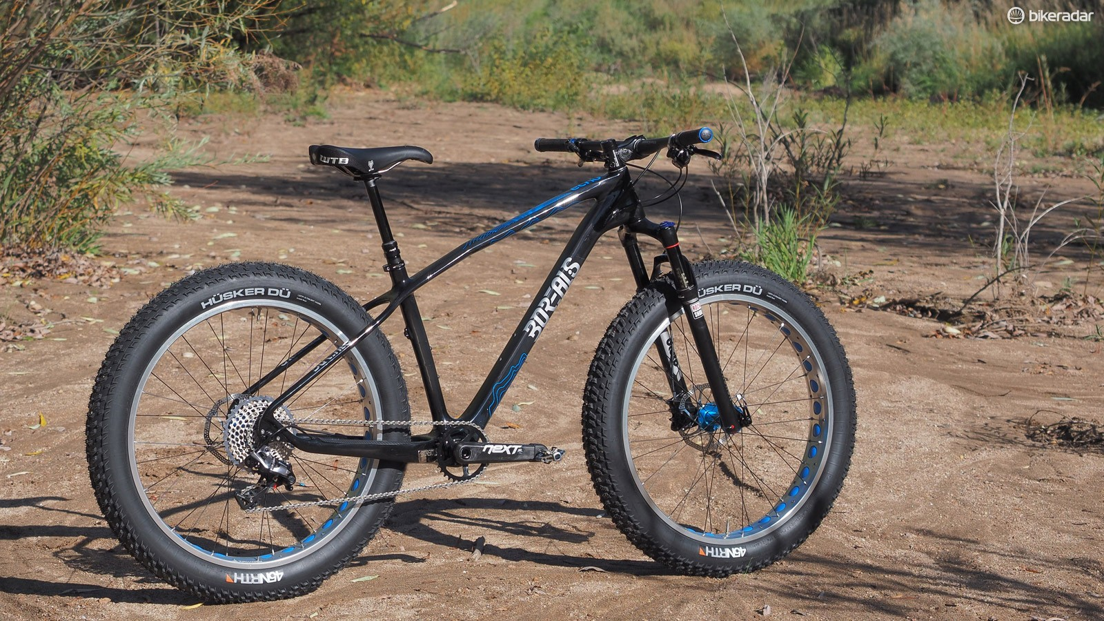The Borealis Echo fat bike may be best suited for winter riding but it's mighty capable in summertime conditions, too