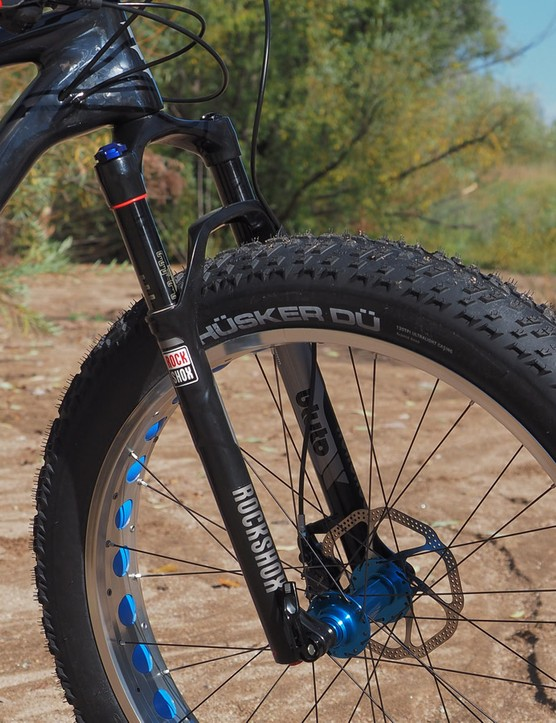 Suspension indeed isn't entirely necessary if you're only going to be taking your fat bike on snow but it does help with front wheel traction, especially on more heavily used trails that tend to be more hard packed and chunky