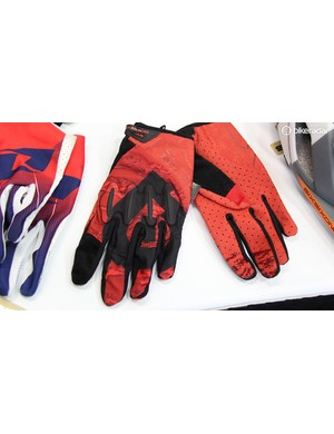 Six Six One was showing off its latest full-fingered glove. The EVO has a minimalist palm with D3O padding on the knuckles