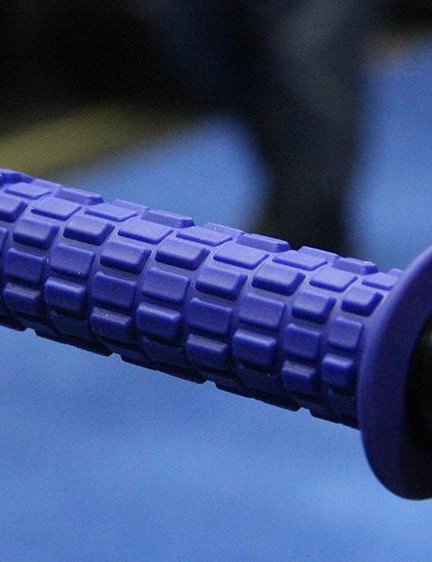 Answer's Tread grip is intended for gravity riding and has three different height blocks to provide plenty of grip