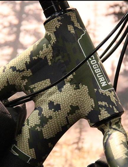 Cogburn's CB4 fat bike gets a new camo pattern