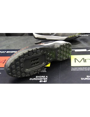 The Kestrel is SPD-compatible and has a grippy Stealth rubber sole