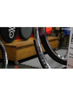 Velocity's new Aileron rims are disc-specific and tubeless compatible. The Aileron retails for US$120 per rim and has a claimed weight of 480g