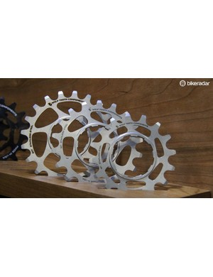 Wolftooth also makes singlespeed cogs in aluminum as well as stainless steel (shown here)