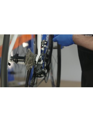 Check the drivetrain is running smoothly