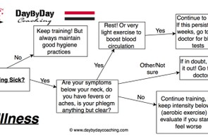 Flow chart for illness