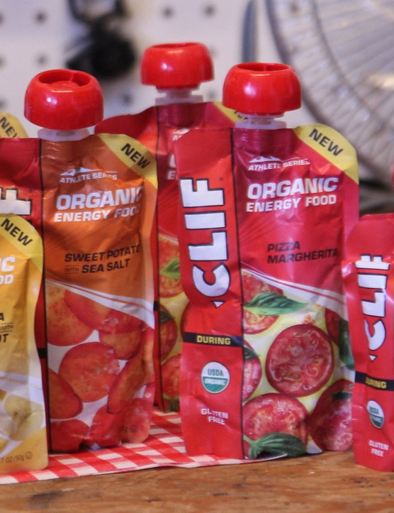 Pizza in a pouch, anyone? Clif is expanding its line of portable food into savoury options