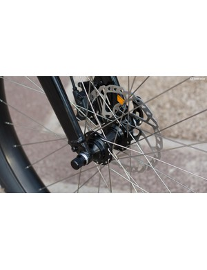 We expect to see more of these 110mm front hubs about as the popularity of 27.5+ increases