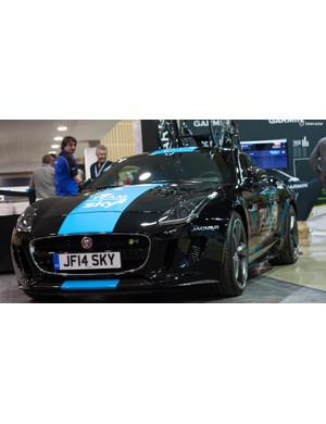 Jaguar's F-Type S20C will easily go down as one of the most impressive support vehicles of all time