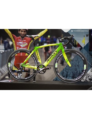 Aside from a flipped cockpit Sam Pilgrim's Ridley was incredibly stock, if you haven't seen the video then Google it.. NOW!