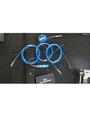 Installation of internal cable routing can be a pain, the magnetic IR-1 kit from Park Tool should make it a whole lot easier