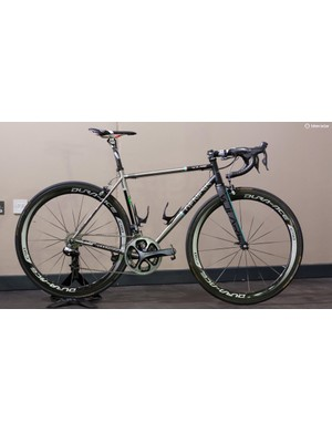 The latest Madison Genesis Volare 953 team bike in all its glory